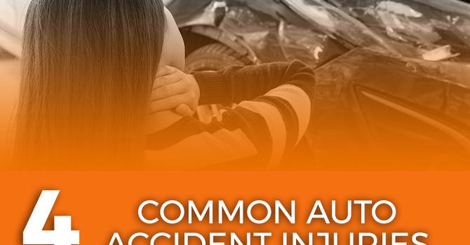 4 Common Auto Accident Injuries image