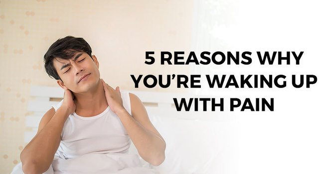 5 Reasons Why You're Waking Up with Pain image